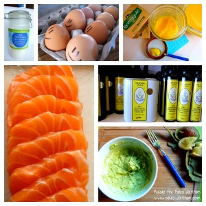 Naturally healthy fats come directly from Mother Nature, not from a factory...!