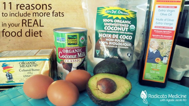 Some of my favorite healthy traditional fats directly from Mother Nature!
