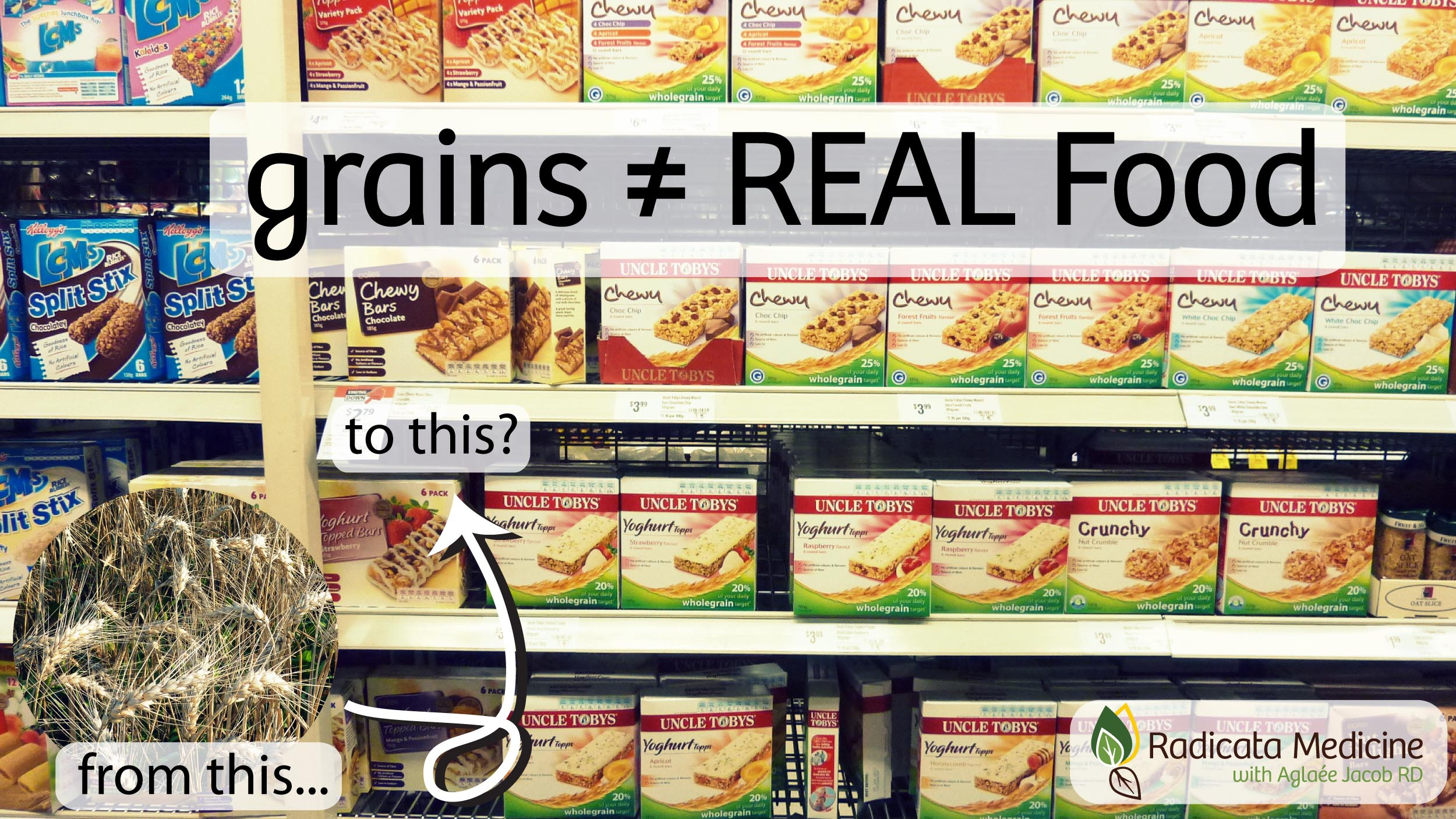 grains not real food