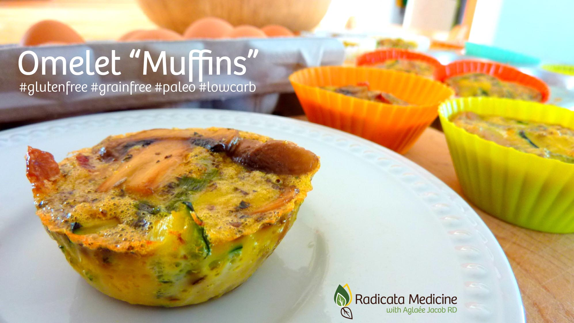 """Omelet """"Muffins"""": grain-free, gluten-free, Paleo, low-carb and made of only REAL food!"""