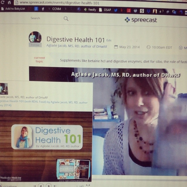 "The recording of  the ""Digestive Health 101"" webinar is now available!"