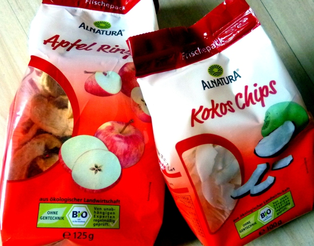 Easy snack options costing about 1 Euro each found at all drugstores in Germany! :)
