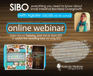 Want to learn more? Watch my SIBO webinar here.