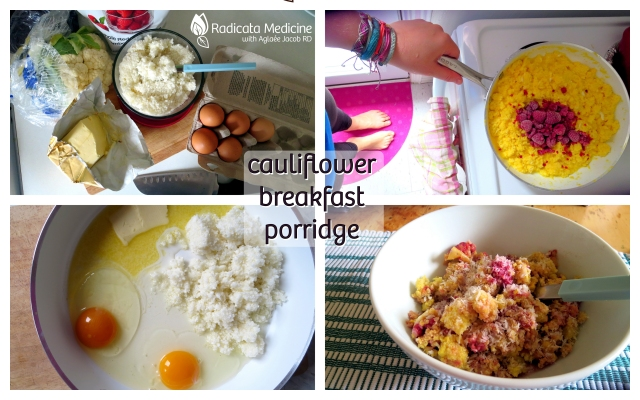 Cauliflower Breakfast Porridge