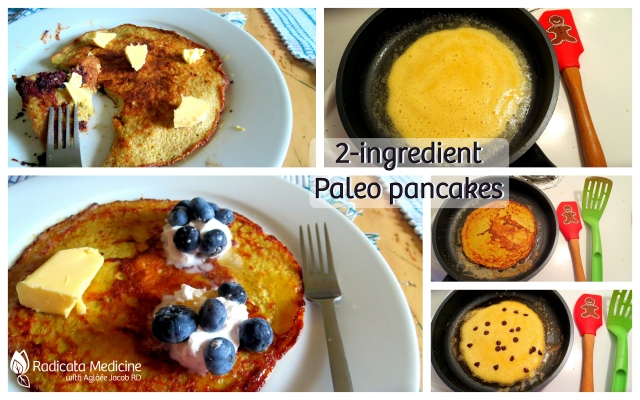 2-ingredient Paleo Pancakes