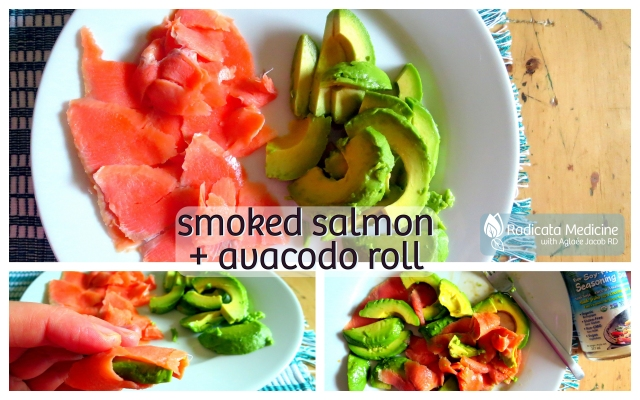 Smoked Salmon & Avocado Rolls