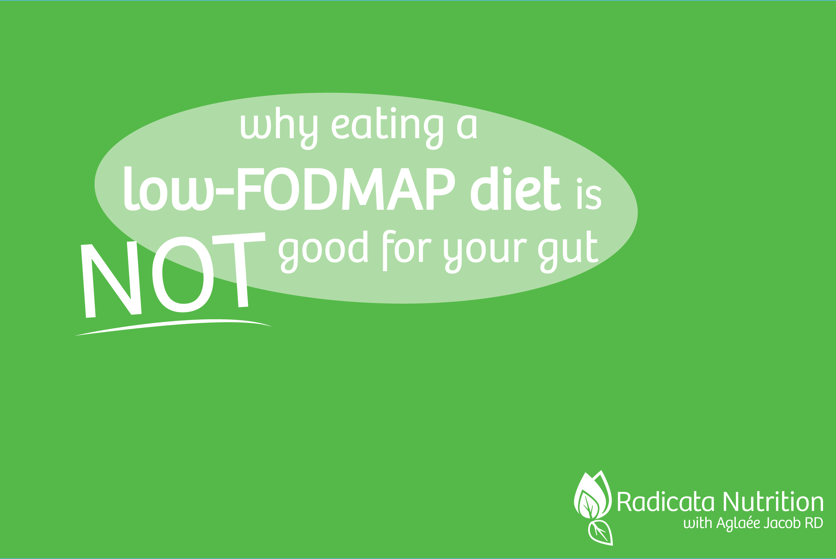 But You Might Need To Go Beyond The Typical Lowfodmap Diet To Heal Your  Gut… Unless You Want To Eat Lowfodmap For The Rest Of Your Life And  Deprive
